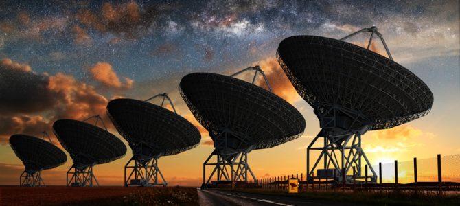 Cientistas detectam poderosas ondas de rádios vindas de fora da Via Láctea