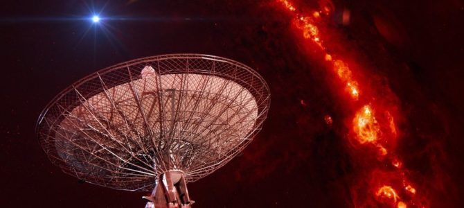 6 sinais de rádio foram detectados vindo de fora da Via Láctea