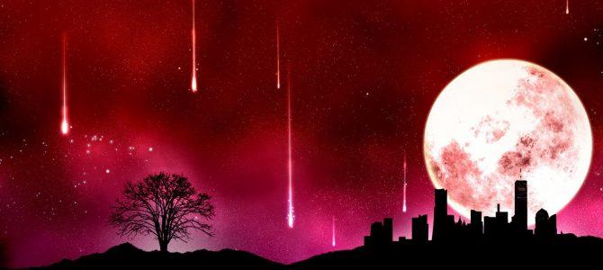 A última Lua cheia do ano irá coincidir com chuva de meteoros