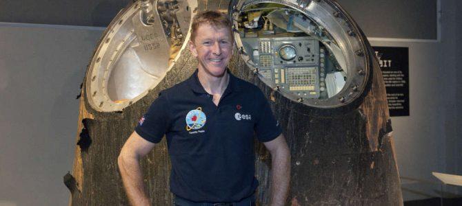 Espaçonave histórica usada pelo astronauta Tim Peake será exibida em Londres