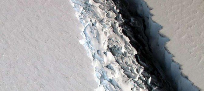 NASA registra grave rachadura na Antártida