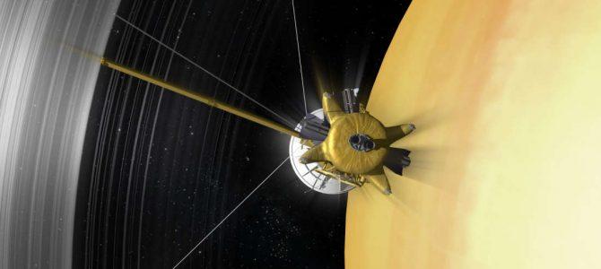 Sonda Cassini começa sua jornada pela órbita de Saturno