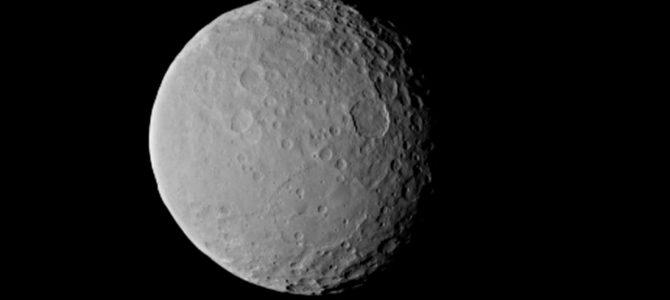 Cientistas da NASA revelam como é o interior de Ceres