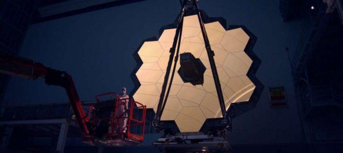 Há um problema de vibração com o telescópio espacial James Webb da NASA