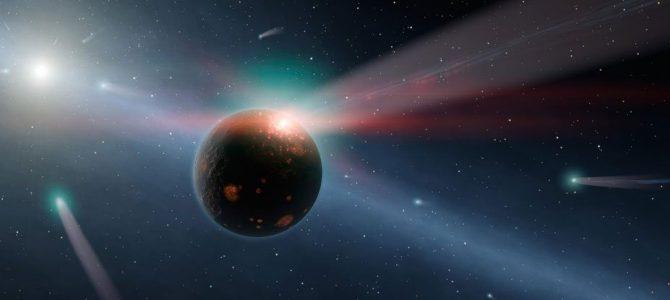 Estrela pode lançar milhares de asteroides em direção a Terra