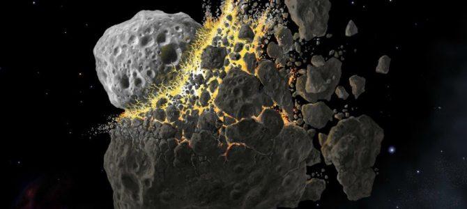 Uma colisão de 466 milhões de anos ainda lança asteroides na Terra