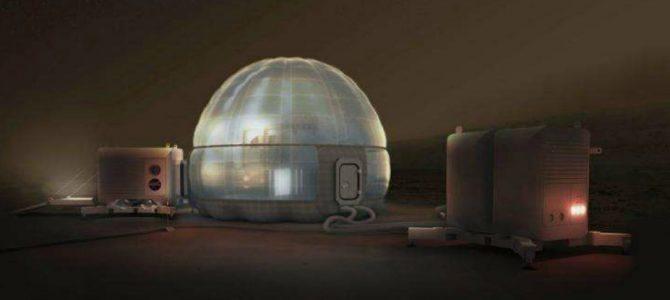 NASA divulga novo conceito de casas para Marte
