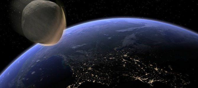 Asteroide do tamanho de um ônibus passou raspando a Terra