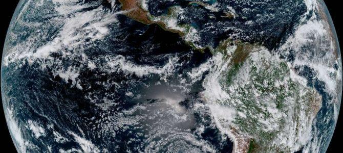 NASA libera imagens da Terra registradas por novo satélite