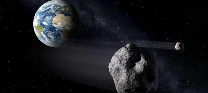 Quase fomos atingidos por um asteroide esta semana