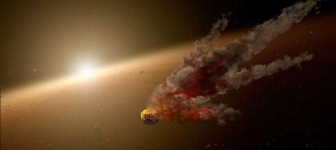 """Os """"mergulhos na luz"""" da Estrela de Tabby podem ter sido causados porque a estrela engoliu um planeta"""