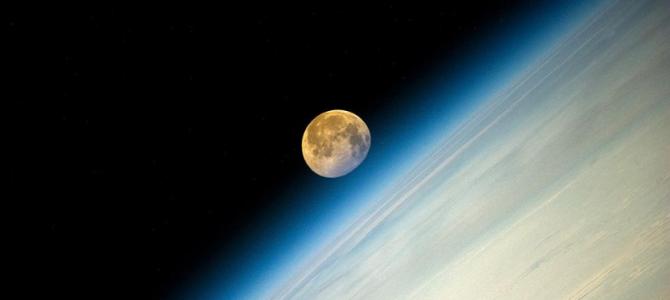 O Sol está enviando o oxigênio da Terra para a Lua