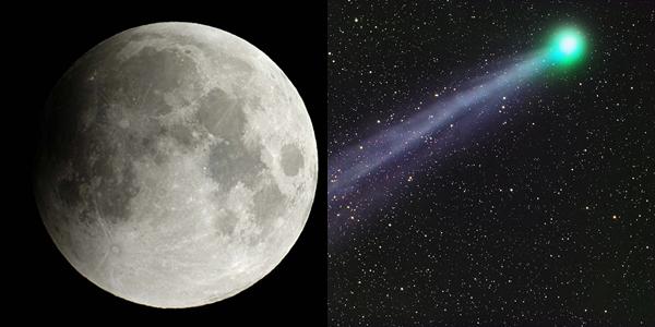 Eclipse lunar e passagem de cometa vão marcar a noite desta sexta-feira