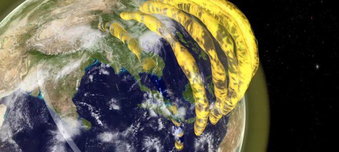 Jatos supersônicos de Plasma foram detectados na atmosfera da Terra