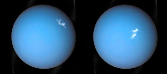 Hubble captura a aurora mais intensa já vista em Urano