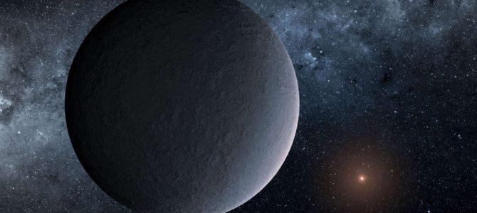 Astrônomos descobrem exoplaneta gelado do tamanho da Terra