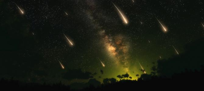 Acontece hoje a chuva de meteoros Eta Aquáridas