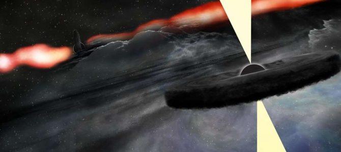 Astrônomos descobrem objeto próximo de um famoso buraco negro