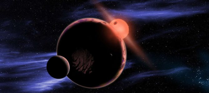 Super-Terra é descoberta orbitando estrela próxima