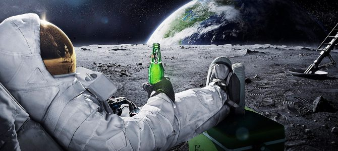 Cientistas pretendem produzir cerveja na Lua