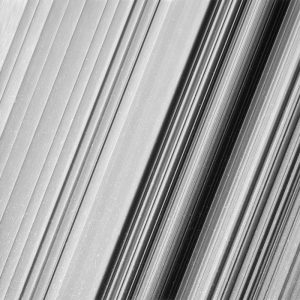 Anel B de Saturno. (Créditos: NASA/JPL-Caltech/Space Science Institute).