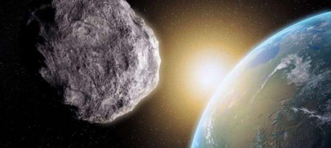 Asteroide 2017 BS32, descoberto há poucos dias, passará próximo da Terra nesta noite