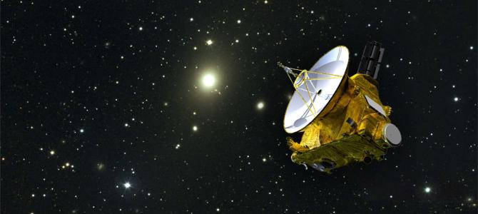 New Horizons registra dados impossíveis de obter da Terra