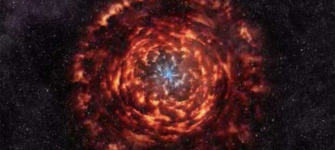 Este vídeo em 3D mostra como é dentro de uma supernova