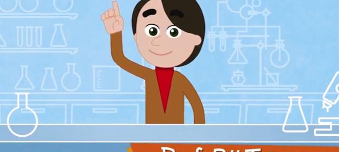 Canal no YouTube ensina ciência para as crianças com animação