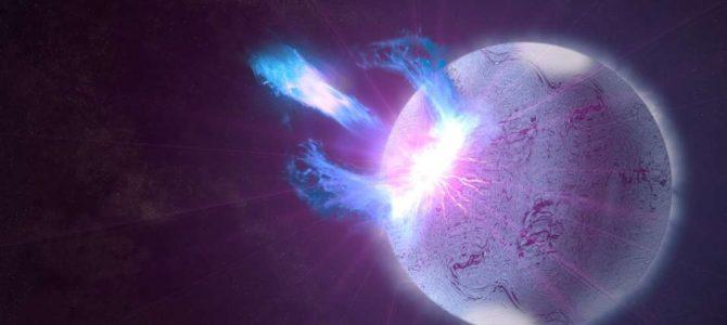 Foram detectados 15 sinais de rádio poderosos em uma galáxia distante