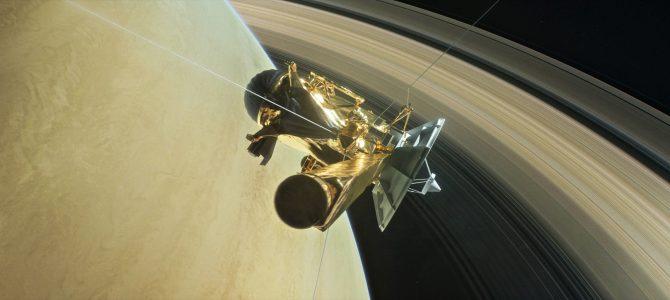 Assista ao vivo o grande fim da sonda Cassini