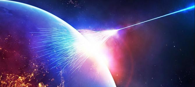 Raios cósmicos de alta energia estão vindo de fora da galáxia