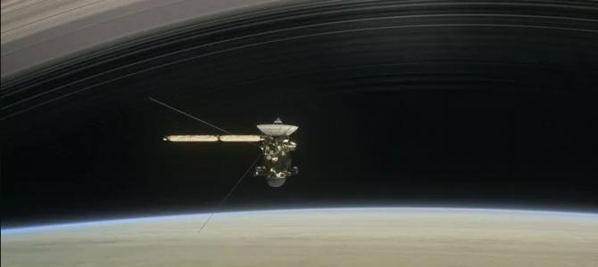 Explosão de sonda em Saturno poderá ser vista da Terra