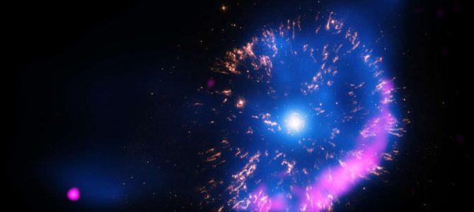 Astrônomos identificam uma misteriosa explosão de luz de um século