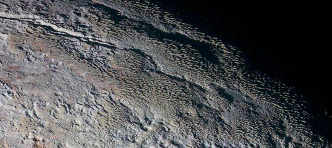 Essa antiga formação em Plutão finalmente foi explicada