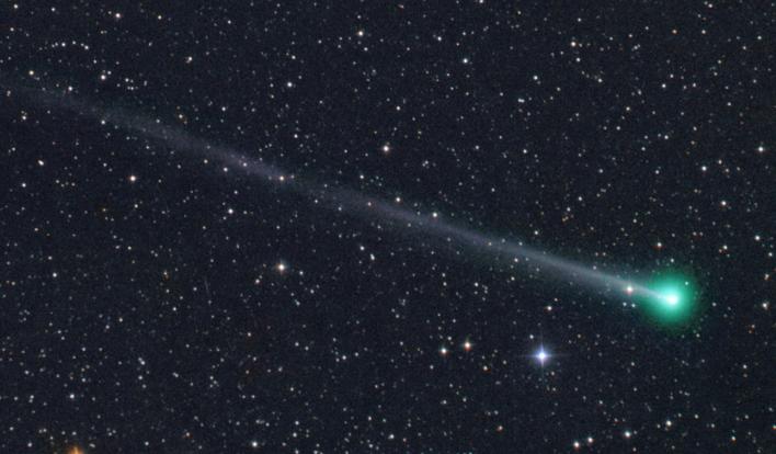 Imagem do cometa 45P Honda.