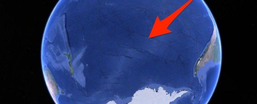Essa é a localização do Ponto Nemo.