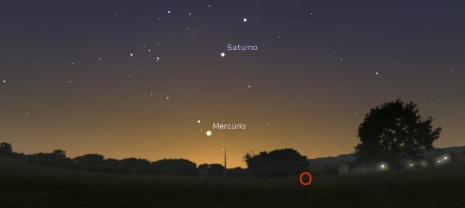 Faltam poucos dias para Saturno deixar de ser visível no céu