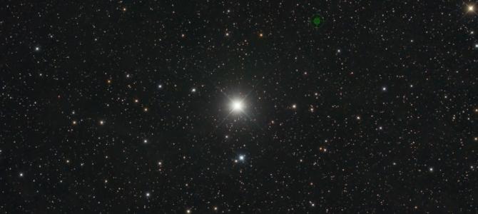Por que algumas estrelas piscam no céu?