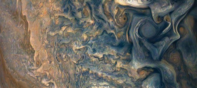 As novas imagens de Júpiter são de tirar o fôlego