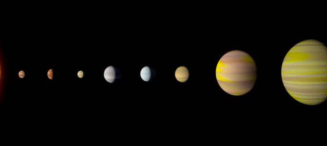 NASA e Google encontram sistema solar igual ao nosso