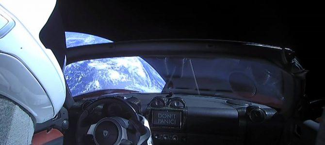 Assista ao vivo o carro lançado pela SpaceX no espaço