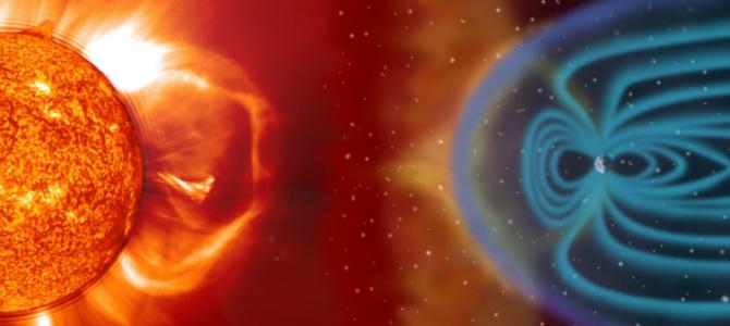 Tempestade geomagnética irá atingir a Terra neste final de semana