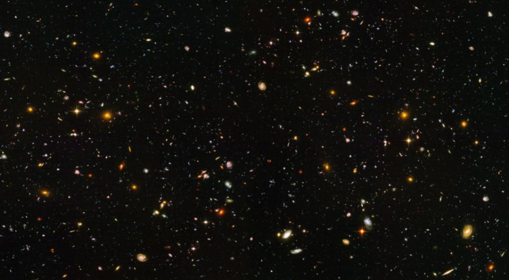 Só nesta imagem existem cerca de 10 mil galáxias.