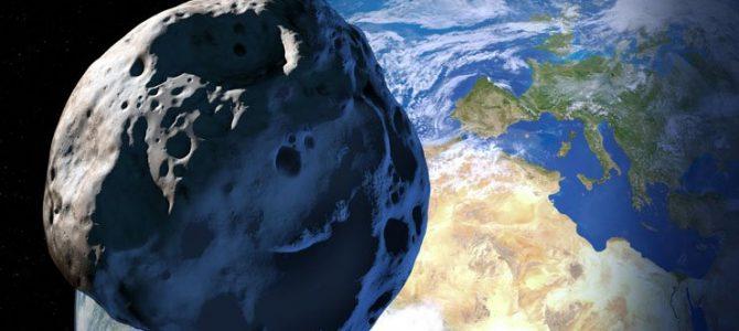 Asteroide perigoso irá passar próximo da Terra amanhã