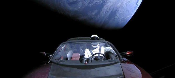 Elon Musk deixou uma mensagem secreta no carro lançado no espaço