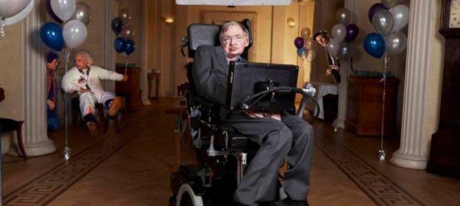 O dia em que Stephen Hawking deu uma festa e ninguém foi
