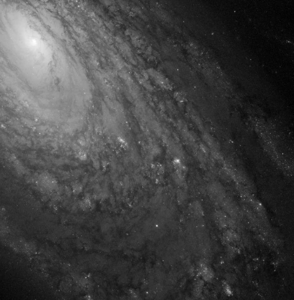 M88 é encontrada a 47 milhões de anos-luz de distância.