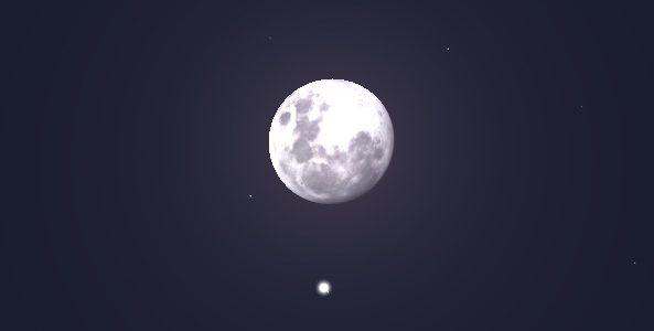 Fenômeno astronômico marcará este final de semana