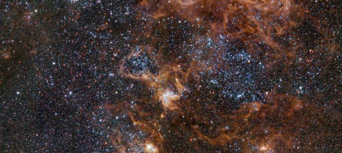 Pare tudo para ver essa imagem incrível da Nebulosa da Tarântula